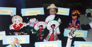 Cultural Dolls Display