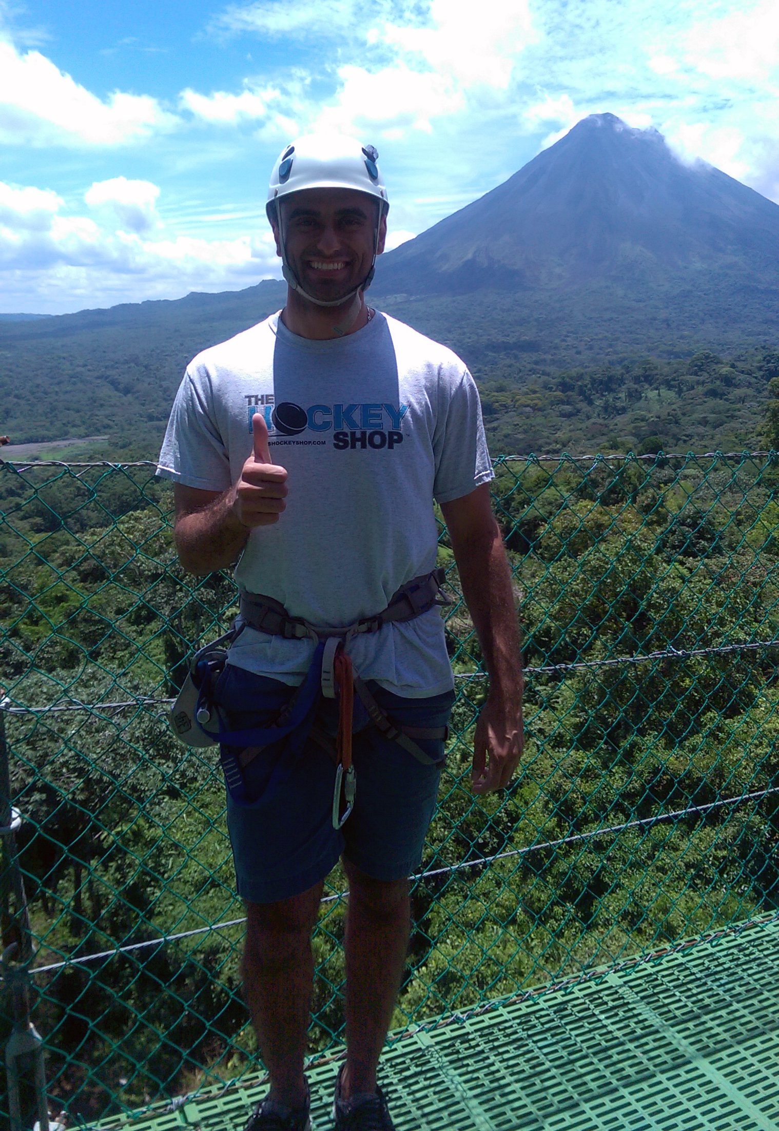 Photo of Texas A&M student in Costa Rica